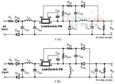 为白光led驱动电路选择拓扑结构(图)