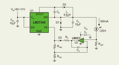 大功率led恒流驱动电路设计(图)