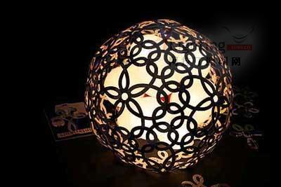 伦敦灯具设计里的圈点创意(组图)