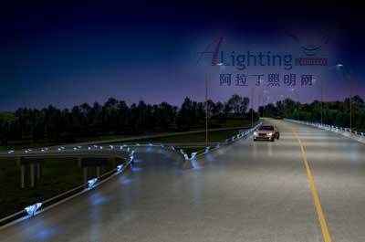 某高速路夜景照明设计欣赏(组图)