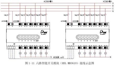 其接线示意图见 1-11,1-12,1-13.