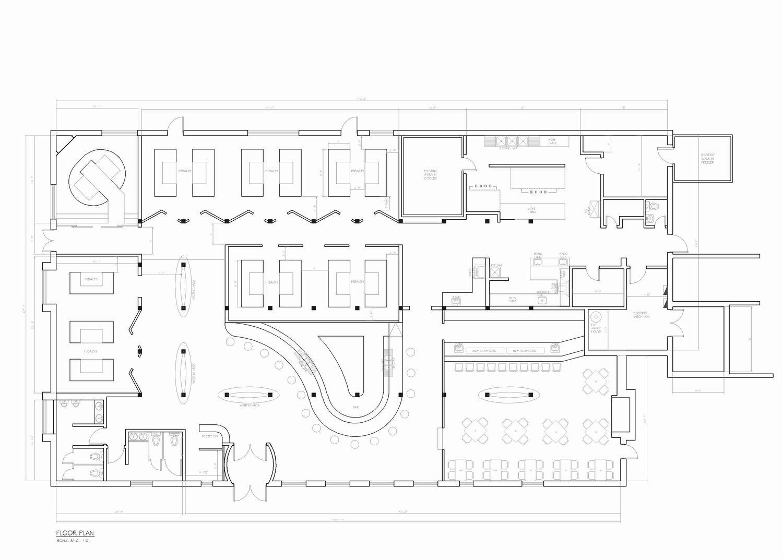 长方形小广场景观平面图