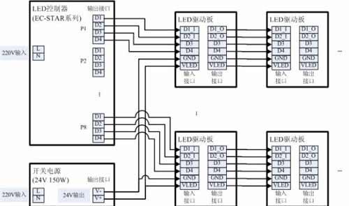 led驱动模块(见图2)是以dm413为核心的电路